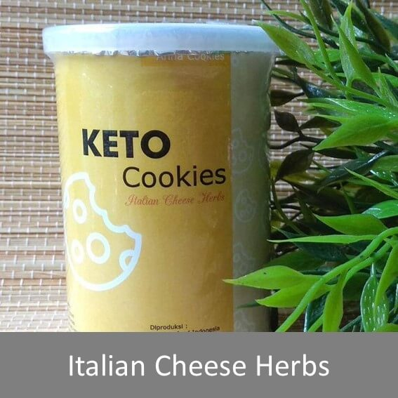 keto cookies italian cheese herbs